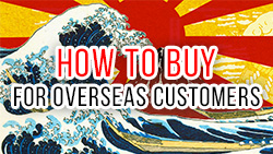How to buy for overseas customers